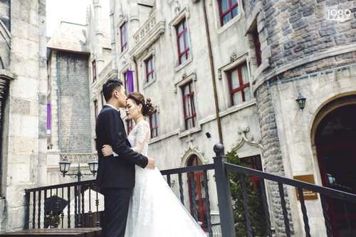 Quang Tuấn - Linh Phi khoe ảnh cưới đậm chất cổ tích-1