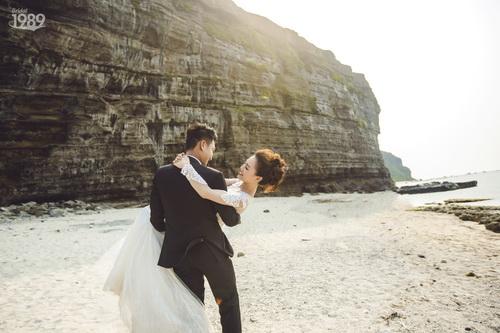 Quang Tuấn - Linh Phi khoe ảnh cưới đậm chất cổ tích-8