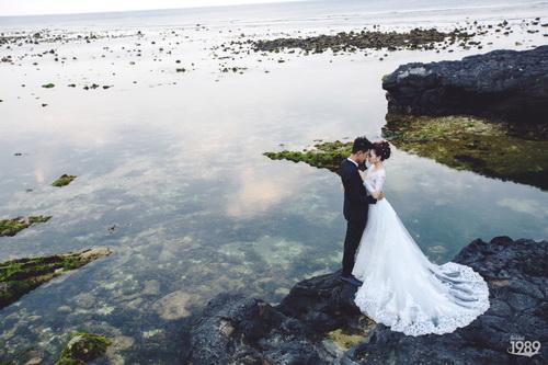 Quang Tuấn - Linh Phi khoe ảnh cưới đậm chất cổ tích-11