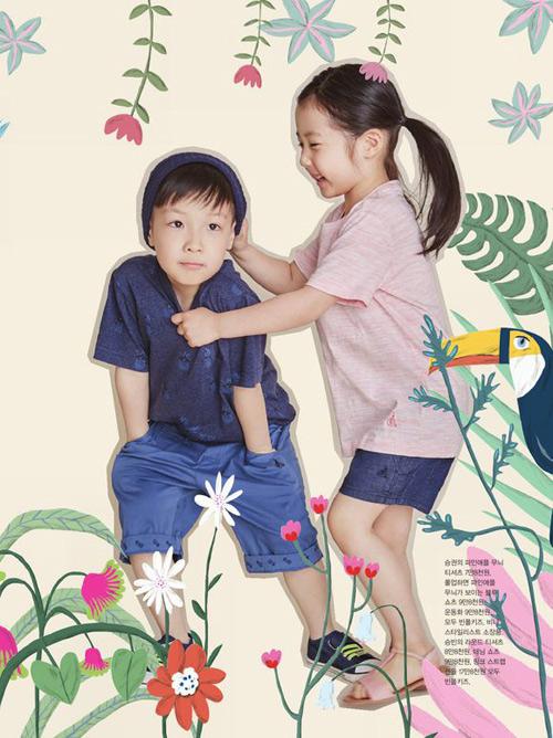 cap sinh doi nha lee young ae cang lon cang dang yeu - 2