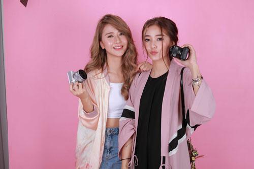 Hot girl Salim tinh nghịch chụp ảnh cùng Quỳnh Anh Shyn-4