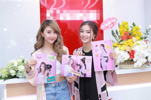 Hot girl Salim tinh nghịch chụp ảnh cùng Quỳnh Anh Shyn-9