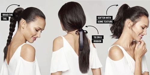 Nâng cấp kiểu tóc buộc đuôi ngựa vừa điệu vừa xinh-1