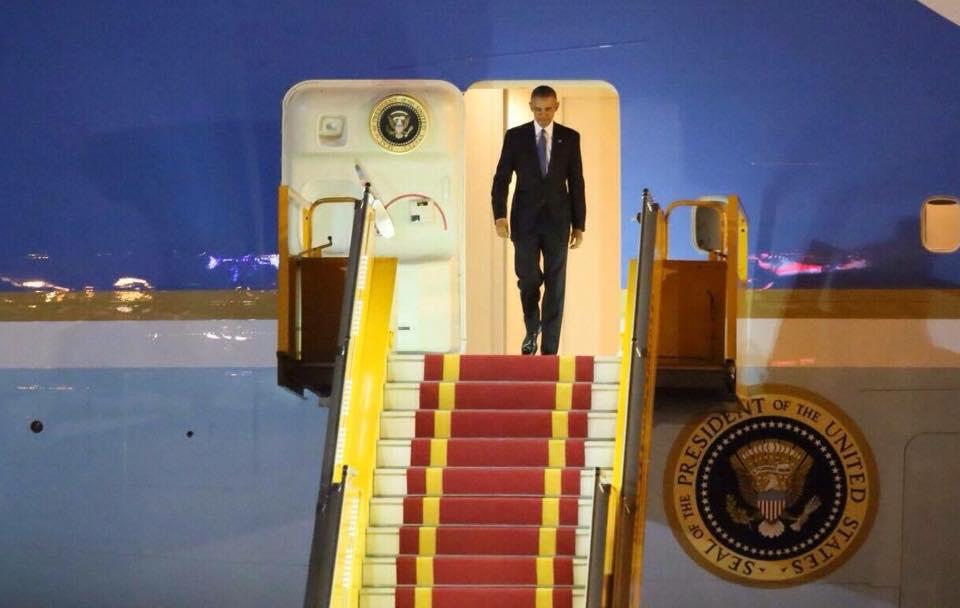 Tổng thống Obama đã đến Hà Nội-2