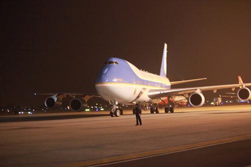Tổng thống Obama đã đến Hà Nội-10