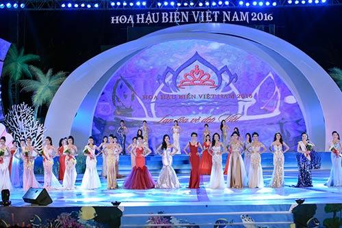 Mãn nhãn với đêm chung kết Hoa hậu biển VN 2016-17