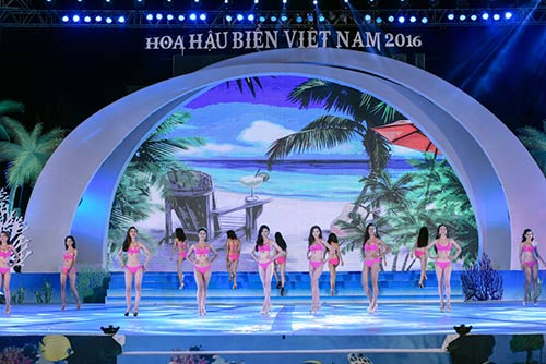 Mãn nhãn với đêm chung kết Hoa hậu biển VN 2016-8