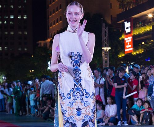 Văn hóa áo dài sống dậy tại thành phố mang tên Bác-7