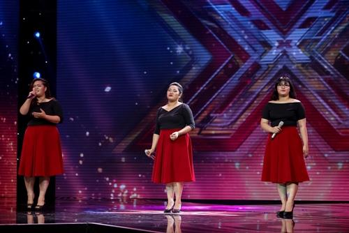 """3 cô gái """"mũm mĩm"""" khiến giám khảo X-Factor loại nhóm trai đẹp-3"""