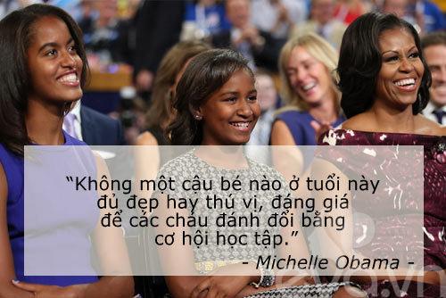6 cau noi day con cua vo chong obama khien the gioi kham phuc - 2