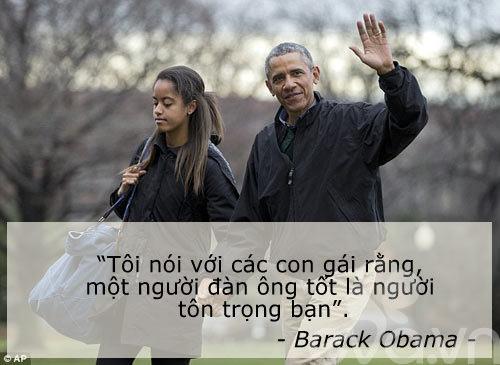 6 cau noi day con cua vo chong obama khien the gioi kham phuc - 3