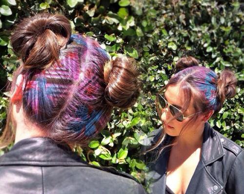 Hoa mắt với mốt tóc màu sắc đang mê hoặc phái đẹp-4