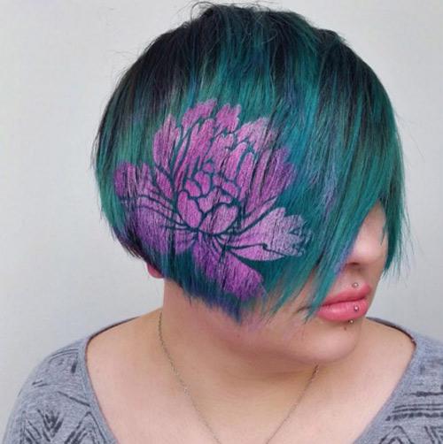 Hoa mắt với mốt tóc màu sắc đang mê hoặc phái đẹp-18