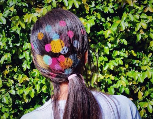 Hoa mắt với mốt tóc màu sắc đang mê hoặc phái đẹp-16