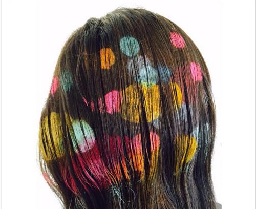 Hoa mắt với mốt tóc màu sắc đang mê hoặc phái đẹp-15