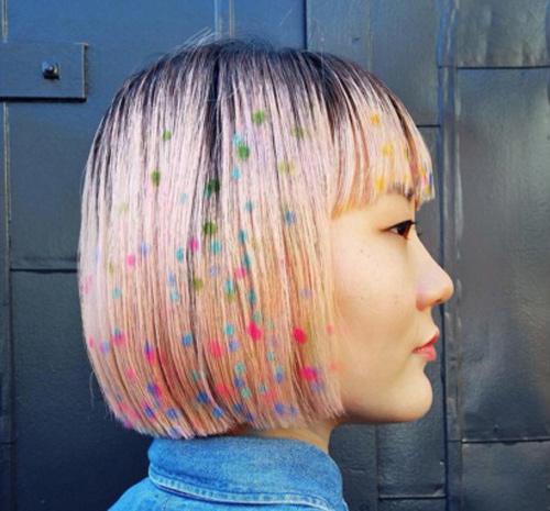 Hoa mắt với mốt tóc màu sắc đang mê hoặc phái đẹp-3