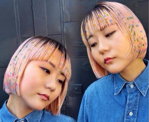 Hoa mắt với mốt tóc màu sắc đang mê hoặc phái đẹp-2