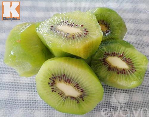 kem kiwi mat lanh, thom ngon lai de lam - 2