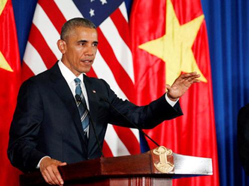 Tổng thống Obama: Có thể đem vợ con tới Việt Nam nghỉ ngơi-1