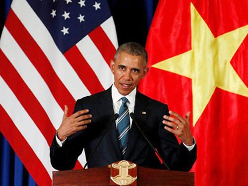 Tổng thống Obama: Có thể đem vợ con tới Việt Nam nghỉ ngơi-2
