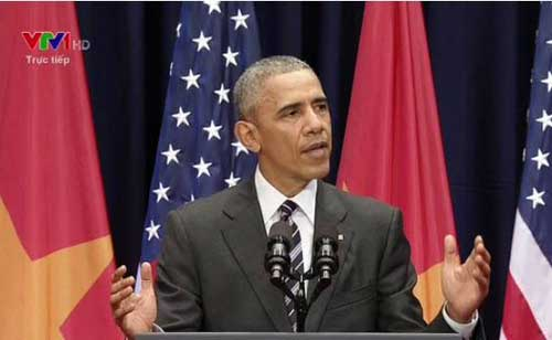 Bài phát biểu đậm chất thơ ca gây xúc động mạnh của TT Obama-1