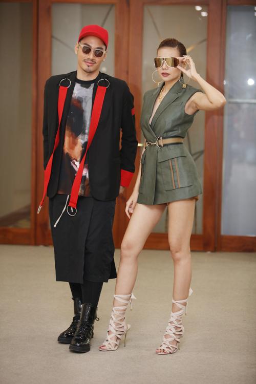 VNTM 2016: Thanh Hằng khoe chân dài 1m12 siêu sexy tại Hà Nội-12
