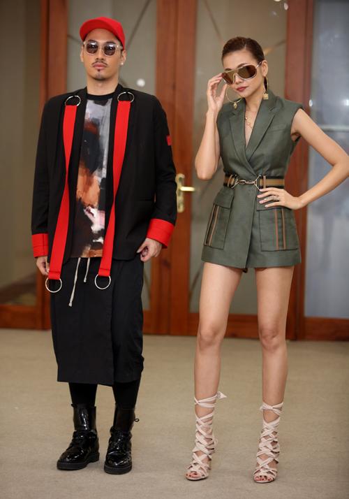 VNTM 2016: Thanh Hằng khoe chân dài 1m12 siêu sexy tại Hà Nội-10