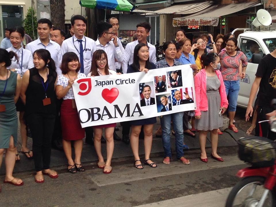 Tổng thống Obama đến TP.HCM-11