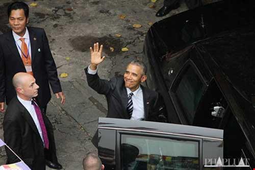 Tổng thống Obama đến TP.HCM-4