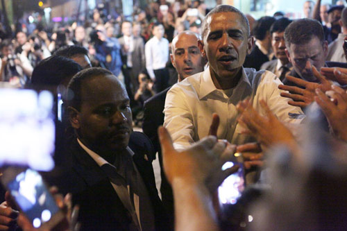 Xem đặc vụ Mỹ bảo vệ Obama trong đêm tại Hà Nội-13
