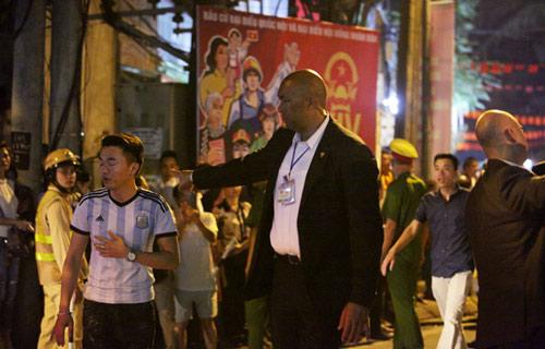 Xem đặc vụ Mỹ bảo vệ Obama trong đêm tại Hà Nội-9