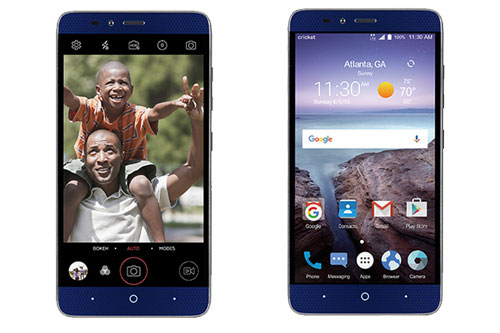 ZTE ra mắt smartphone camera kép giá 4,5 triệu đồng - 1