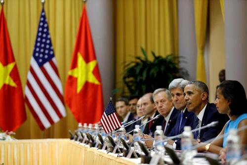 Hình ảnh Obama đến Việt Nam qua lăng kính quốc tế-14
