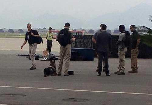 Biệt tài của 2 loại chó nghiệp vụ bảo vệ ông Obama ở VN-2