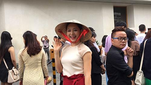 lan phuong doi non la doc dao du cuoc gap tong thong obama - 6