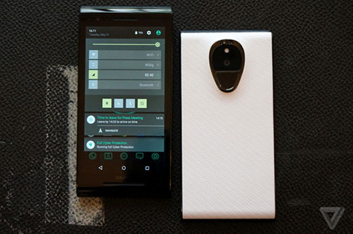 solarin, smartphone android sieu bao mat gia 14.000 usd - 2