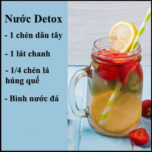 da min dang thon voi 10 loai nuoc detox - 9