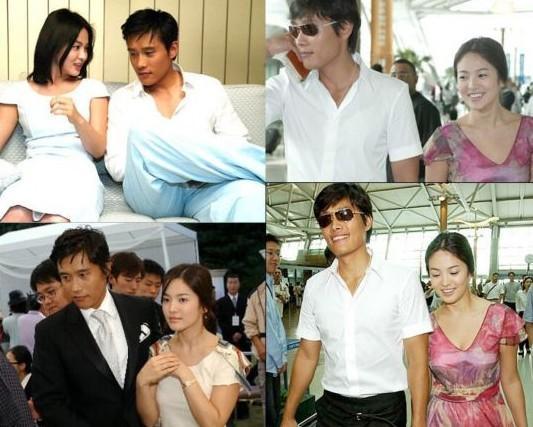 "song hye kyo co tinh ""tranh mat"" lee byung hun - 4"