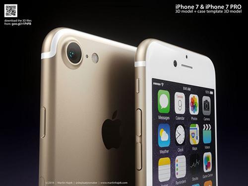"""iphone 7 lo anh dung """"nong bong tay"""" - 1"""