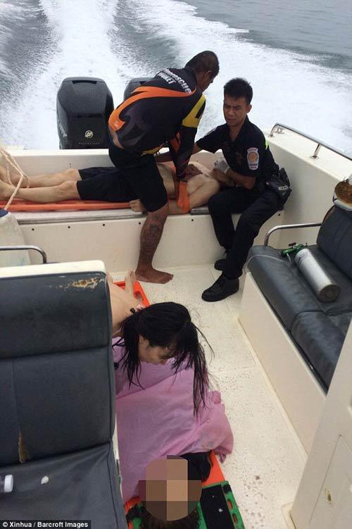thai lan: hai tau cao toc va cham, 28 nguoi thuong vong - 5
