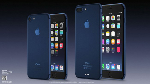 me man truoc ve dep cua iphone 7 mau xanh dam - 1