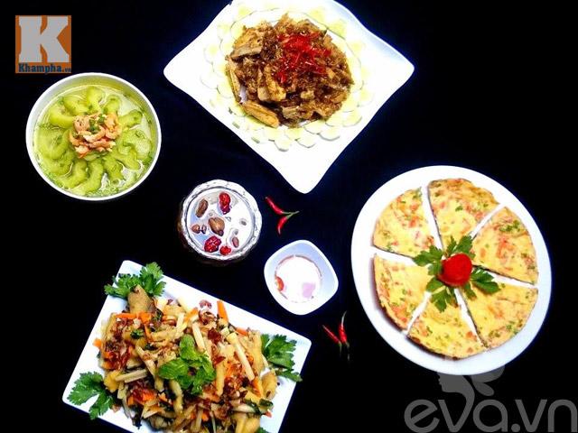 Bữa ăn 5 món khiến cả nhà mê mẩn-1