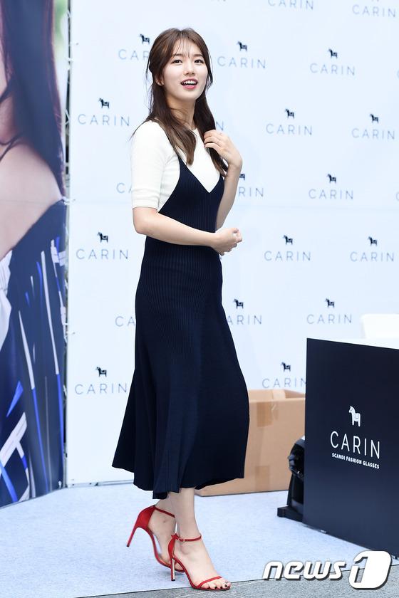 Bae Suzy vẫn đẹp như nữ thần dù tóc rối-1