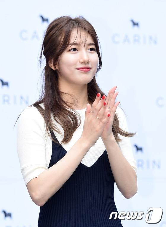 Bae Suzy vẫn đẹp như nữ thần dù tóc rối-3