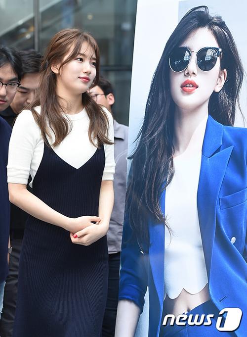 Bae Suzy vẫn đẹp như nữ thần dù tóc rối-5