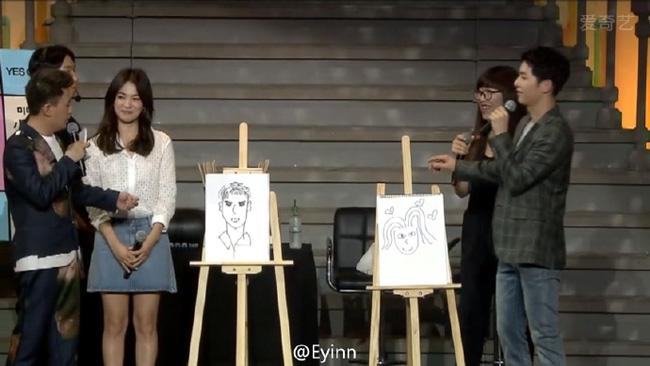 """Song Joong Ki và Song Hye Kyo """"tình trong như đã"""" tại fanmeeting-2"""