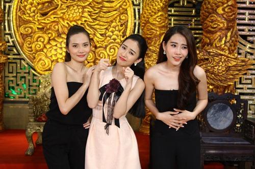 """Trường Giang điêu đứng vì """"chị em sinh đôi"""" Diệu Linh - Nam Em-4"""