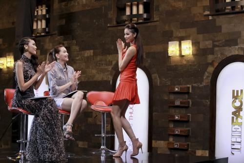 Phạm Hương, Lan Khuê khẩu chiến ngay trên sóng truyền hình-5