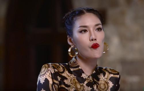 Phạm Hương, Lan Khuê khẩu chiến ngay trên sóng truyền hình-2
