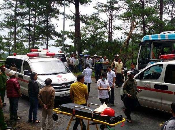 Tai nạn thảm khốc trên đèo Prenn: Do mất phanh?-1